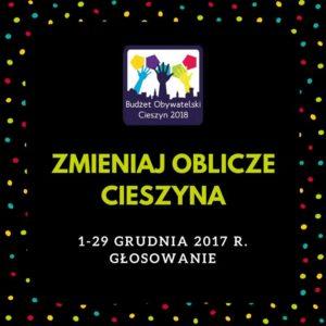 budżet obywatelski 2018 cieszyn