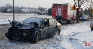 wypadek w Goleszowie