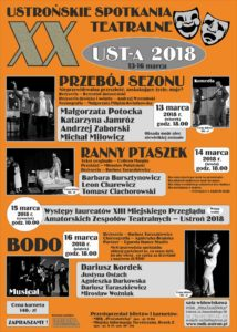 XX Ustrońskie Spotkania Teatralne 2018