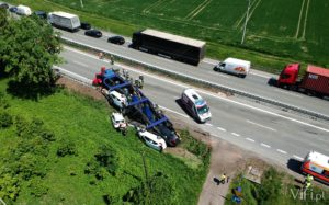 tir na boku wypadek w drogomyślu
