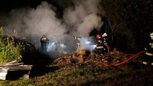 pożar w Bąkowie