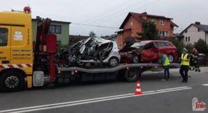 Wypadek śmiertelny w Marklowicach