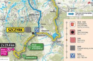 Utrudnienia w ruchu podczas Tour de Pologne