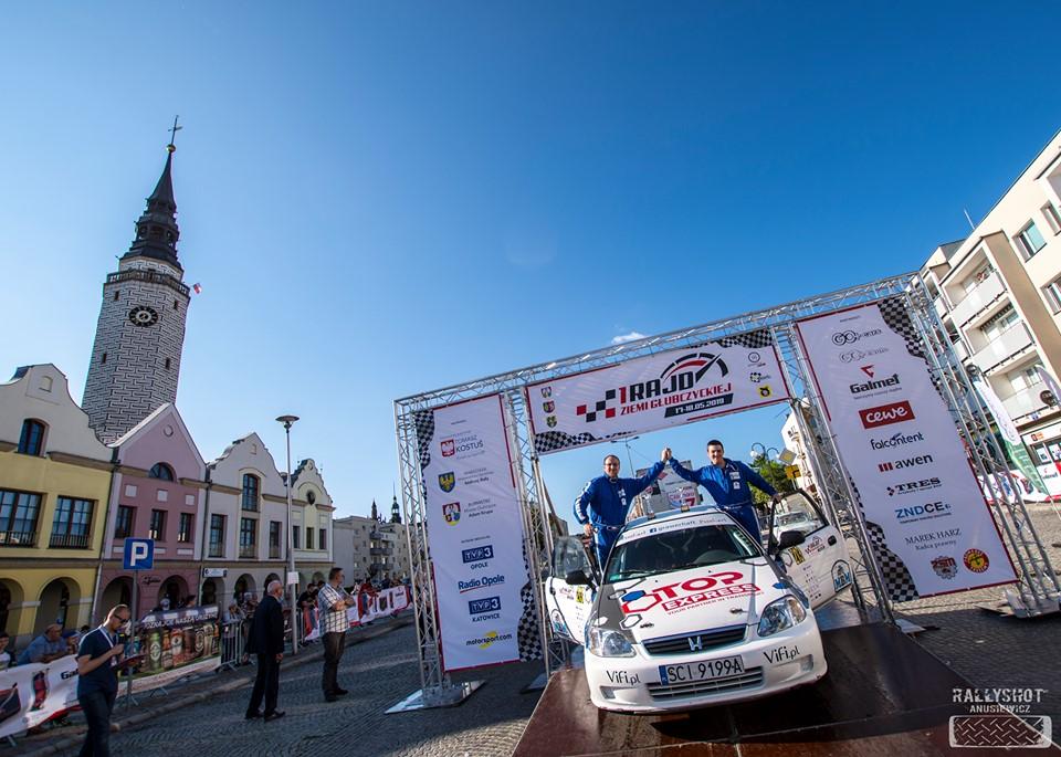 2 miejsce Top Express Rally Team-u
