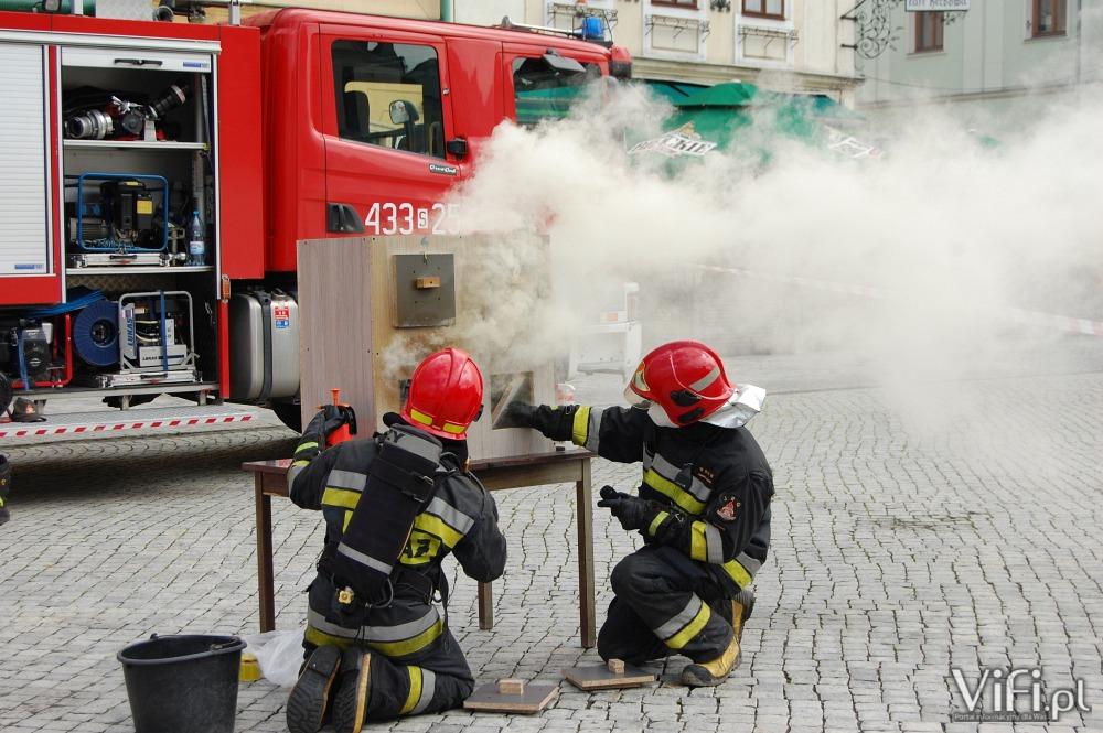 Strażackie pokazy w Cieszynie