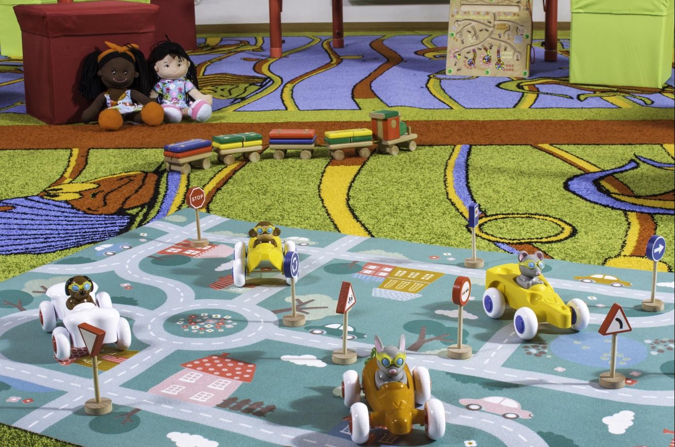 Sala zabaw w strumieńskim emgoku