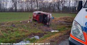 wypadek w pawłowicach