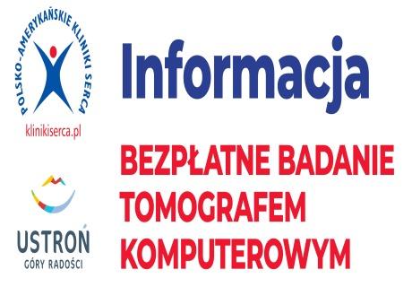 Bezpłatna tomografia komputerowa w Ustroniu – bezterminowo!