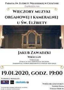 Wieczory Muzyki Organowej i Kameralnej u św. Elżbiety